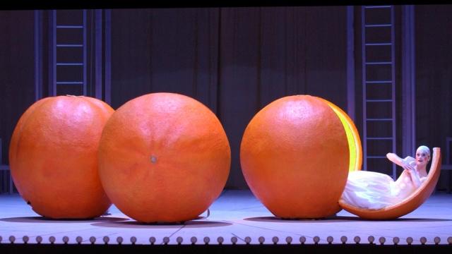 El amor de las tres naranjas