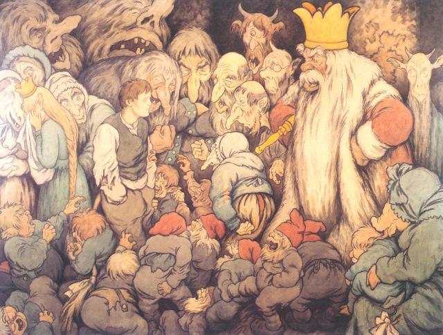peer-gynt-en-el-salon-del-trono-del-rey-de-la-montana-thedor-kittelsen-1913